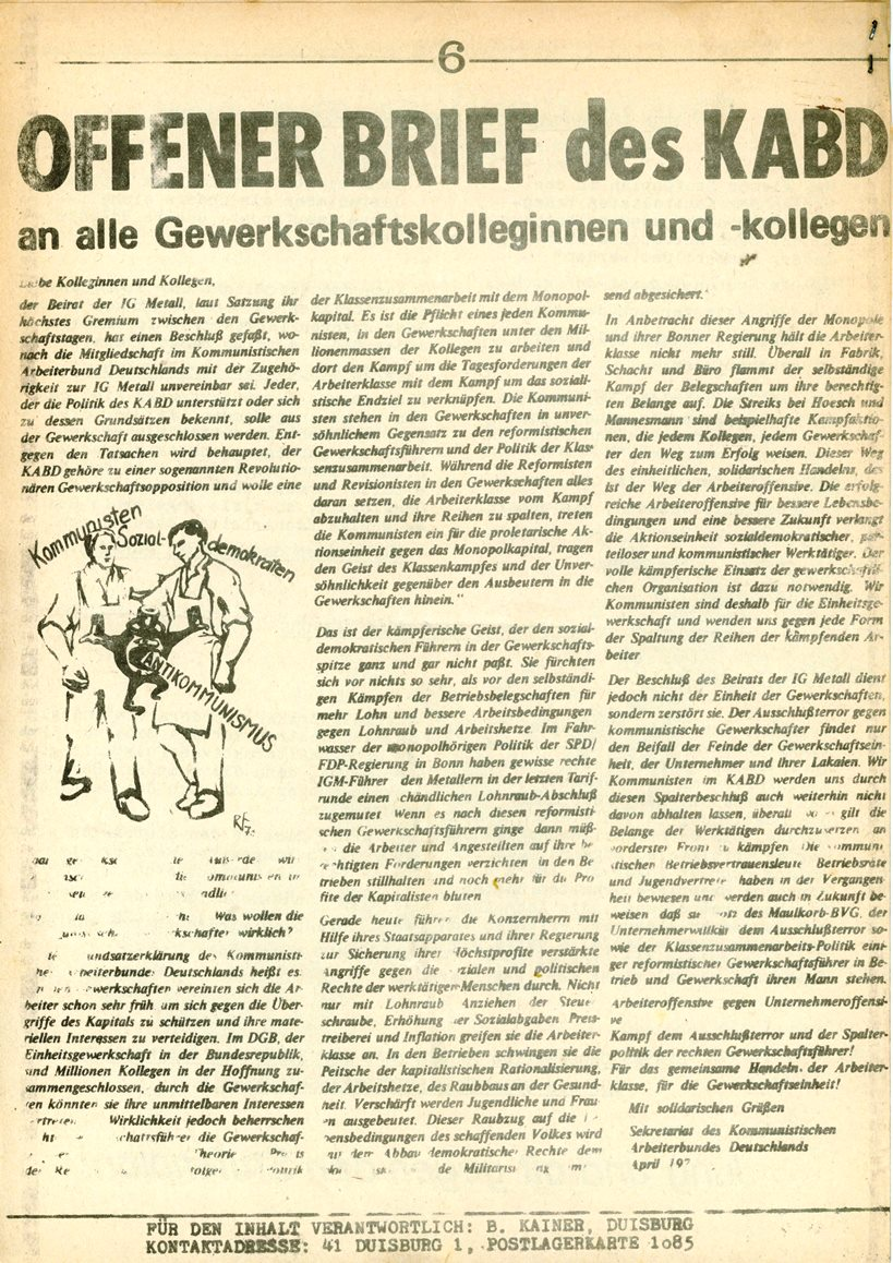 Duisburg_KABD_Roter_Demag_Kurier_1973_03_06