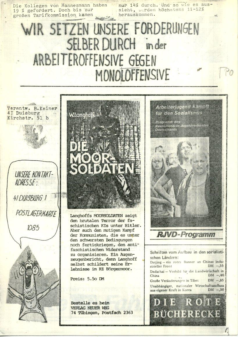Duisburg_KABD_Roter_Demag_Kurier_1974_07_02