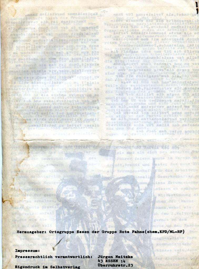 Essener Arbeiterzeitung, Nr. 1, Mai 1973, Seite 8