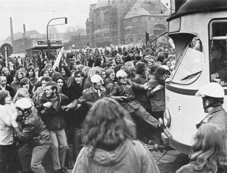 Fahrpreiskämpfe in Essen (1972)