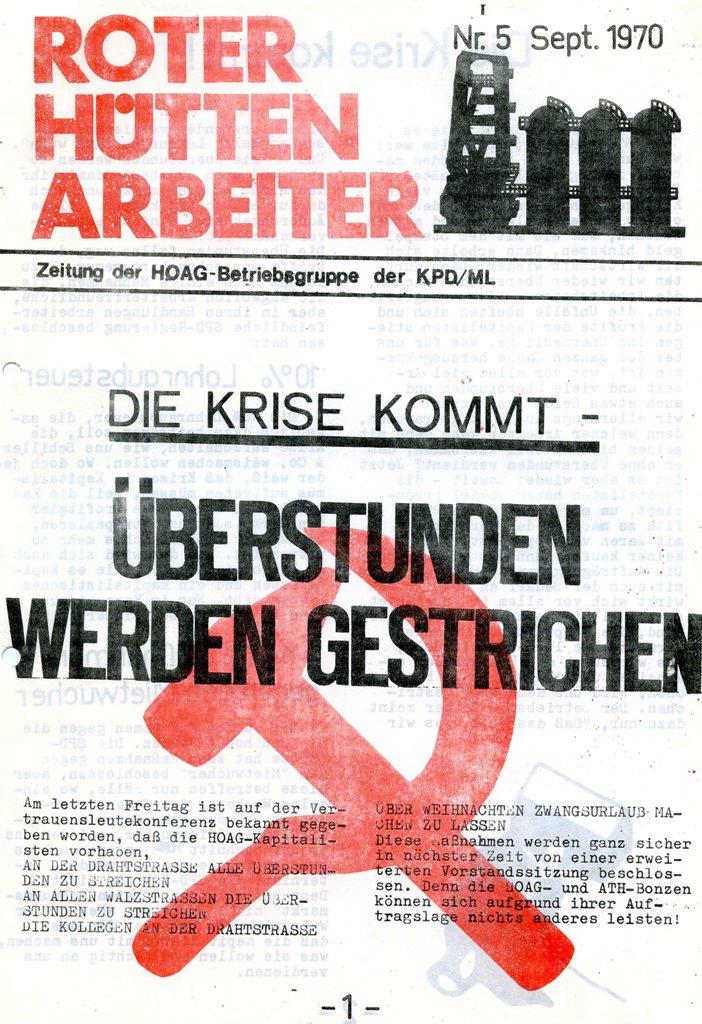 RHA, 5/1970, S. 1