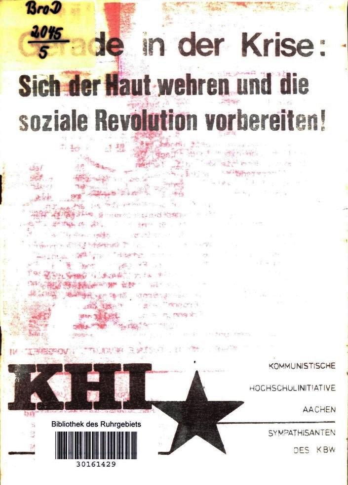 Aachen_KHI_1975_Krise_01