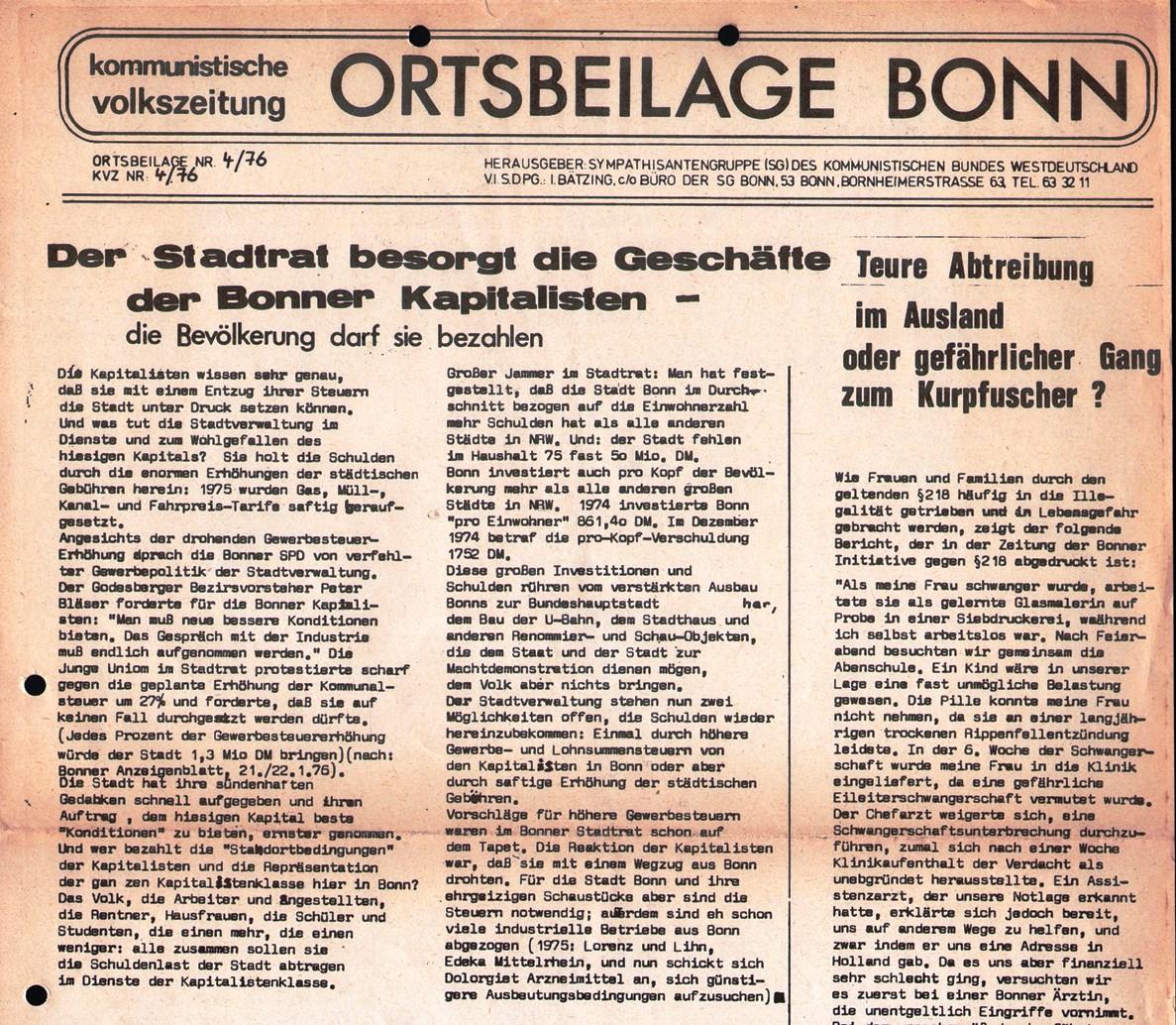 Bonn_KVZ005