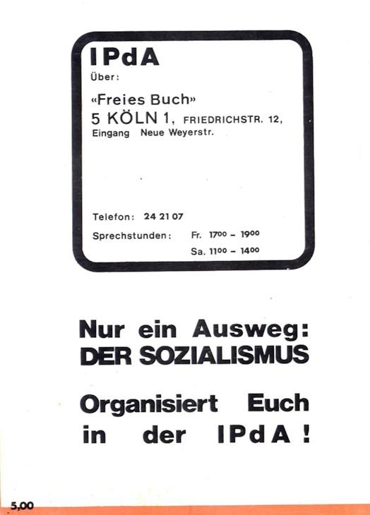 Koeln_IPdA_1975_Politische_Plattform_94