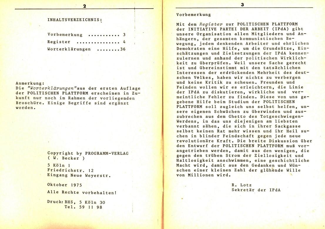 Koeln_IPdA_1975_Politische_Plattform_Beiheft_01_002