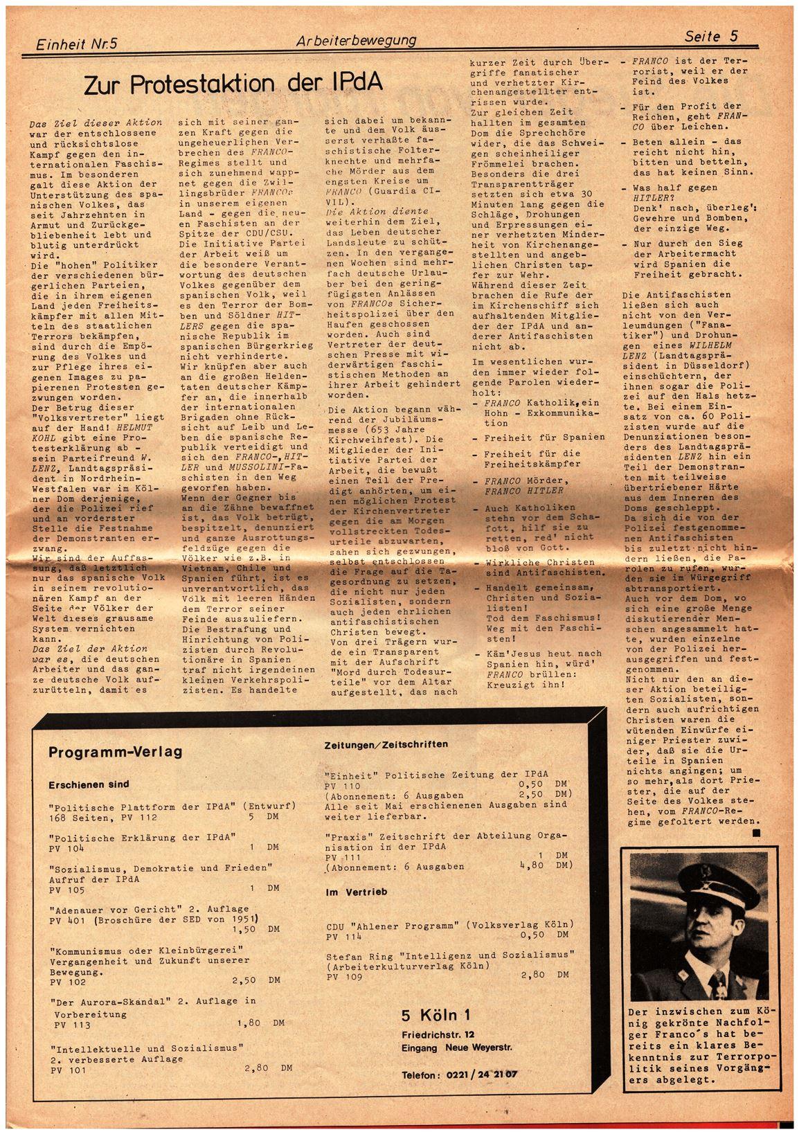 Koeln_IPdA_Einheit_1975_Sonder_005
