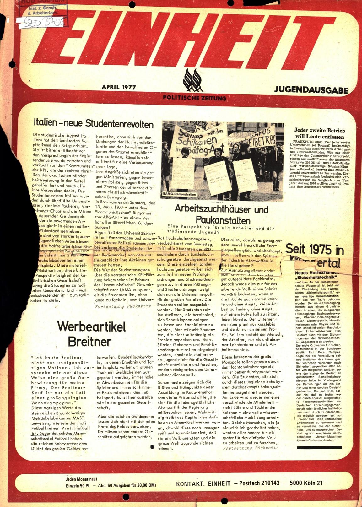 Koeln_IPdA_Einheit_1977_013_Jugend_001