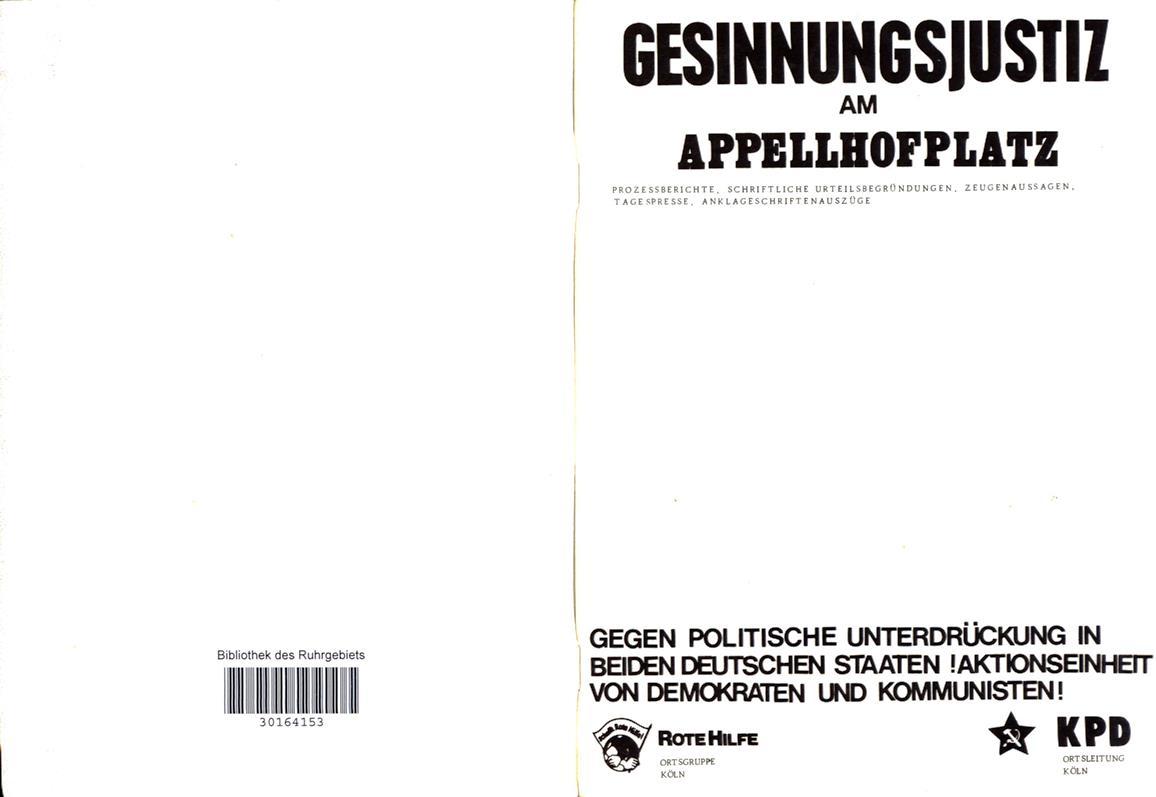 Koeln_KPD_1977_Appellhofplatz_02