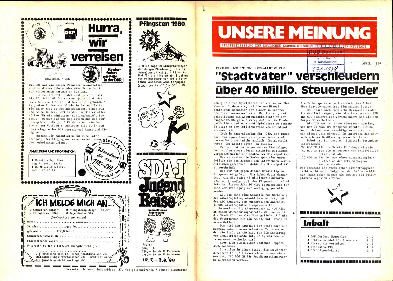 Gelsenkirchen_DKP_Unsere_Meinung_19800400_01