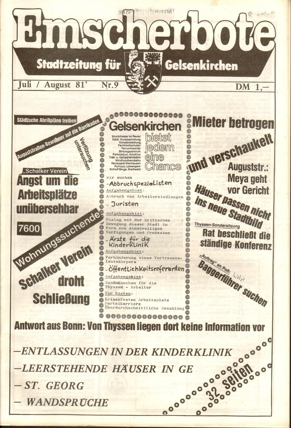 Gelsenkirchen_Emscherbote_1981_09_01