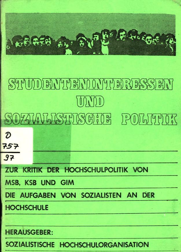 Muenster_SHO_1977_Studenteninteressen_01