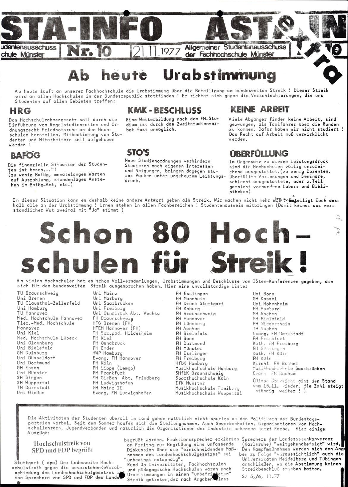 Muenster_19771121_FH_AStA_Info_10_01