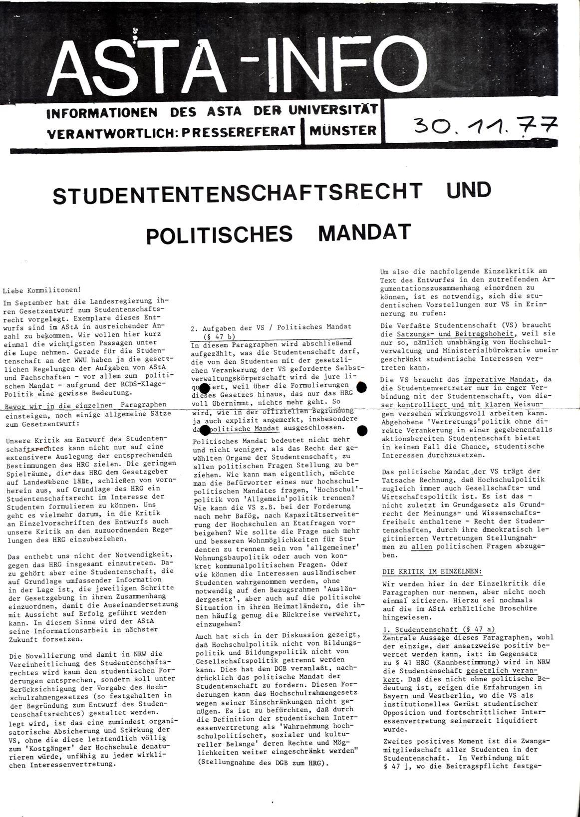 Muenster_AStA_Info_19771130_01