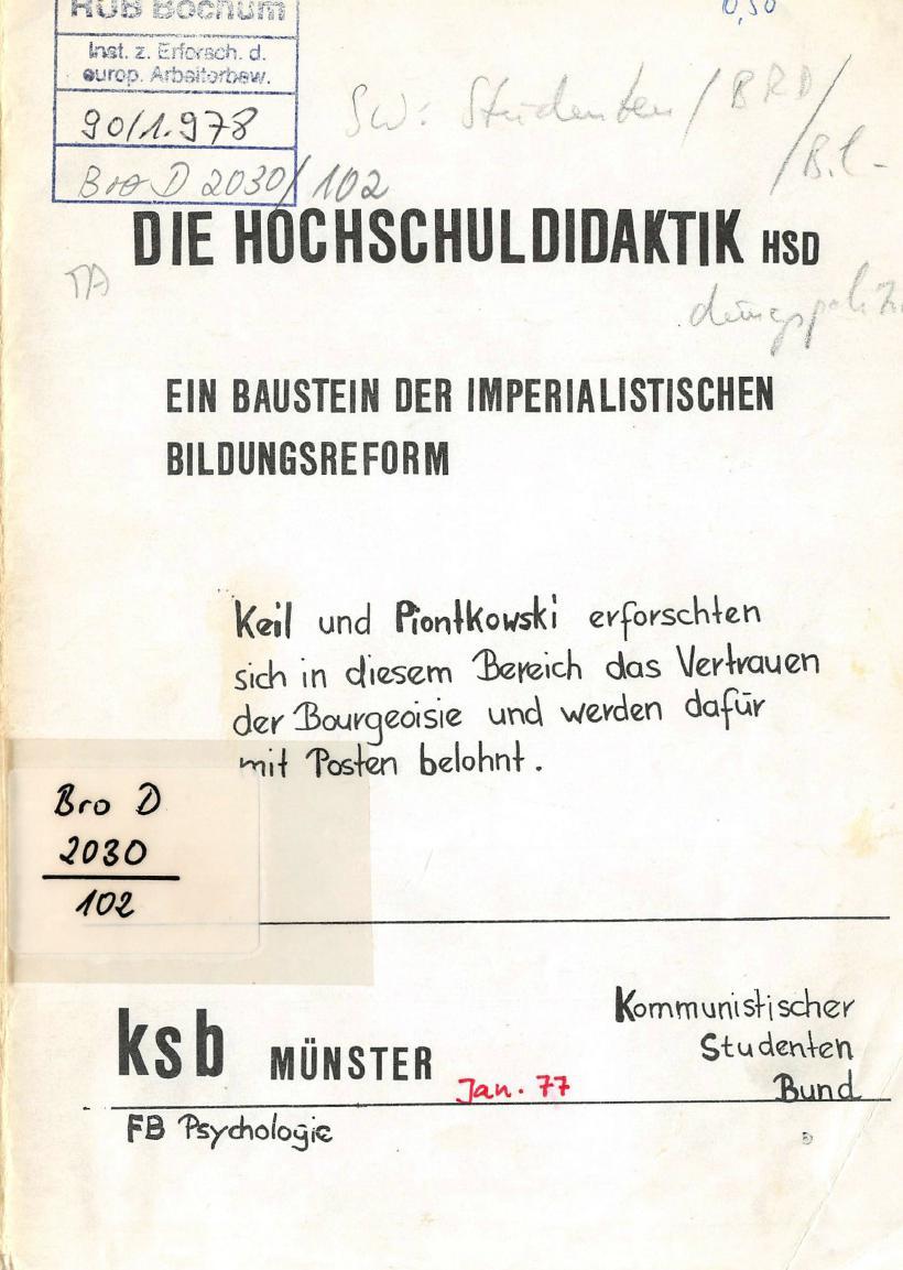 Muenster_KSB_1977_Hochschuldidaktik_01