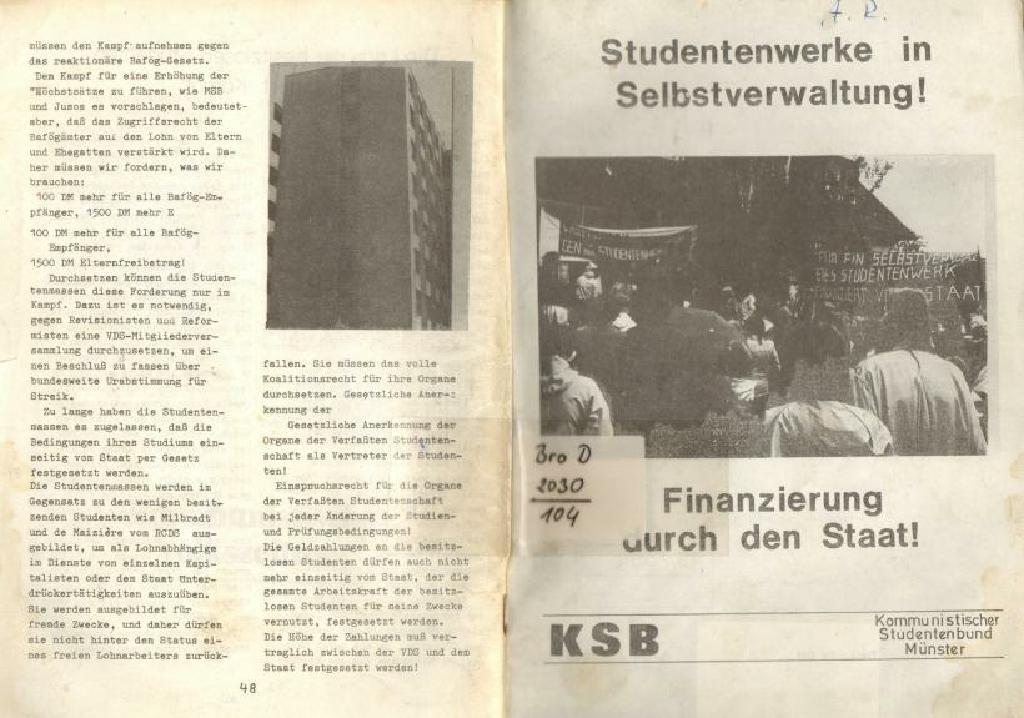 Muenster_KSB_1976_Studentenwerke_in_Selbstverwaltung_01