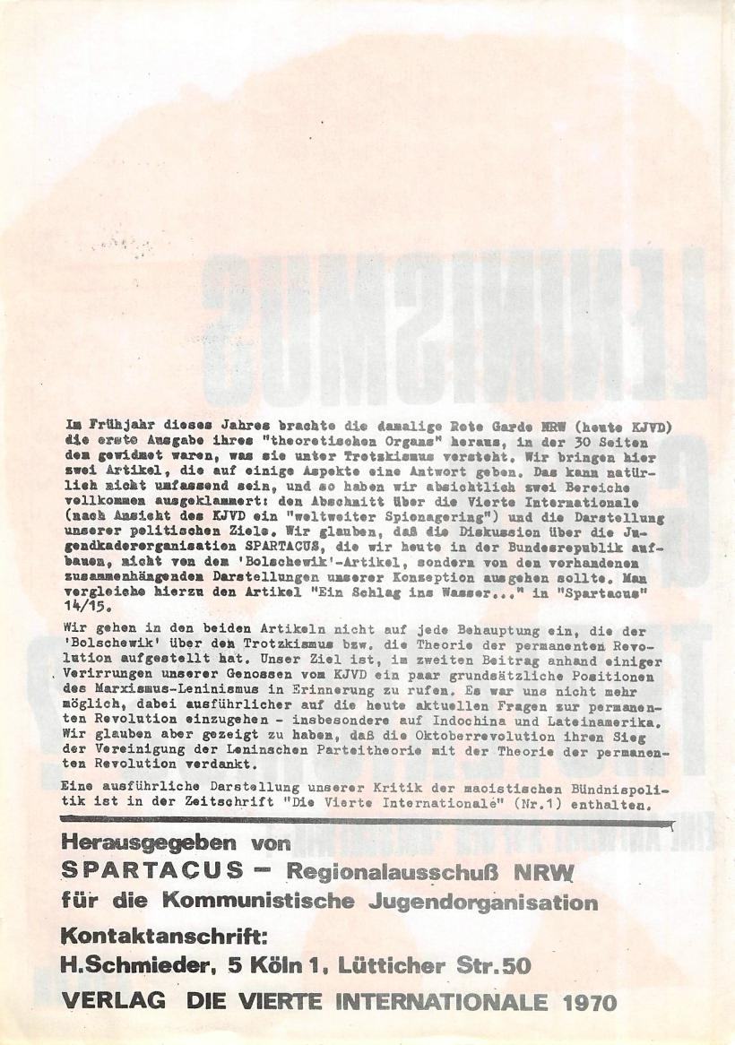 NRW_Spartacus_1970_Leninismus_gegen_Trotzkismus_02