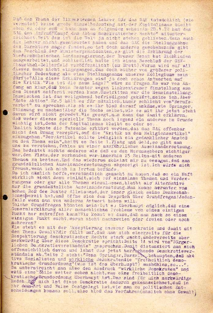 Rote Aktion _ Organ des SAK, Extra, April 1972, Seite 3