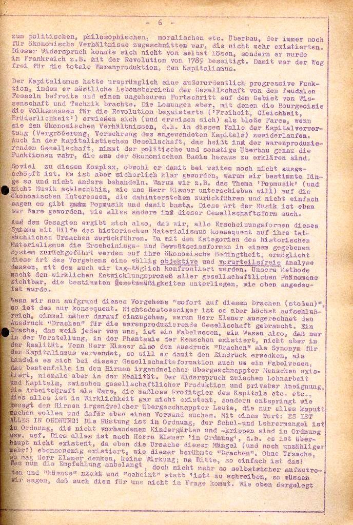 Rote Aktion _ Organ des SAK, Extra, April 1972, Seite 6