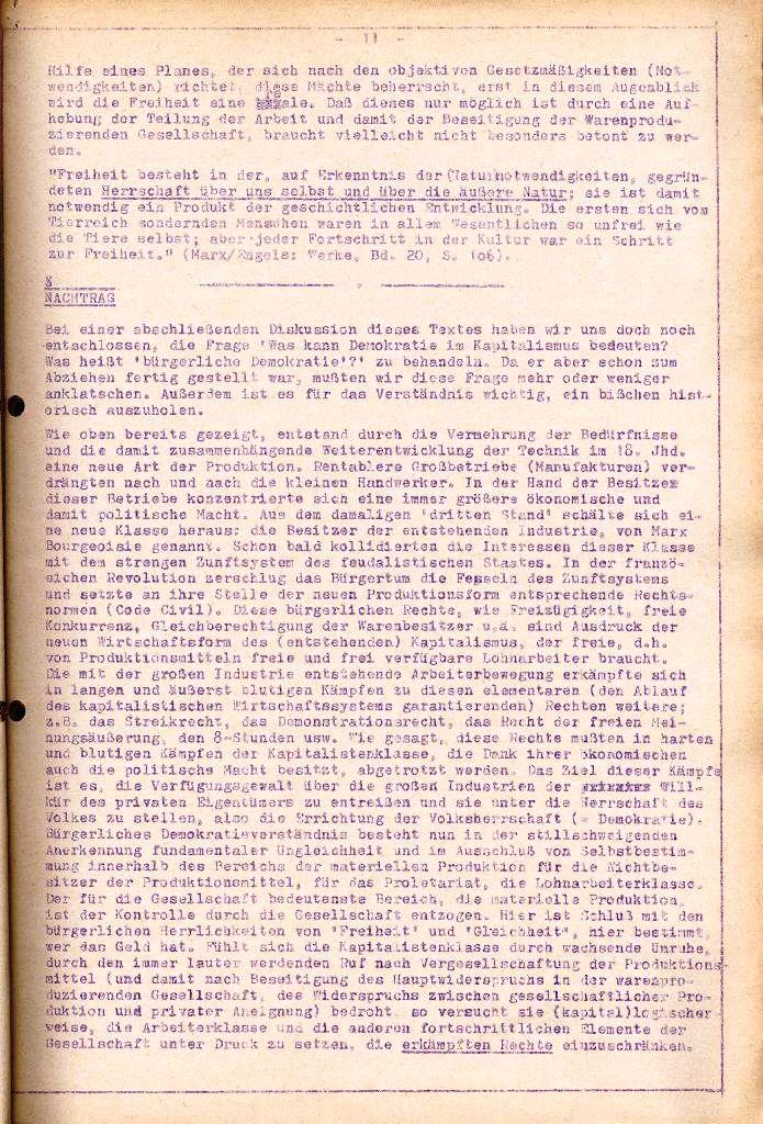 Rote Aktion _ Organ des SAK, Extra, April 1972, Seite 11