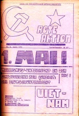 Rote Aktion _ Organ des SAK, Nr. 6, April 1972