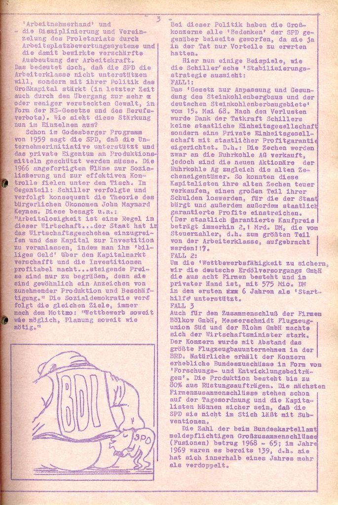 Rote Aktion _ Organ des SAK, Nr. 6, April 1972, Seite 3