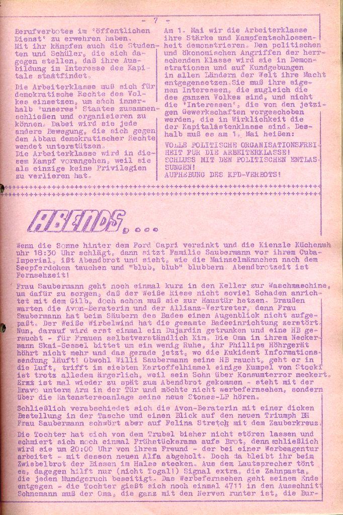 Rote Aktion _ Organ des SAK, Nr. 6, April 1972, Seite 7