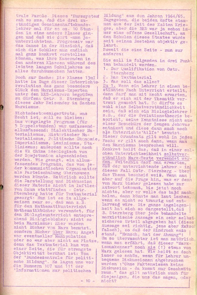 Rote Aktion _ Organ des SAK, Nr. 6, April 1972, Seite 10
