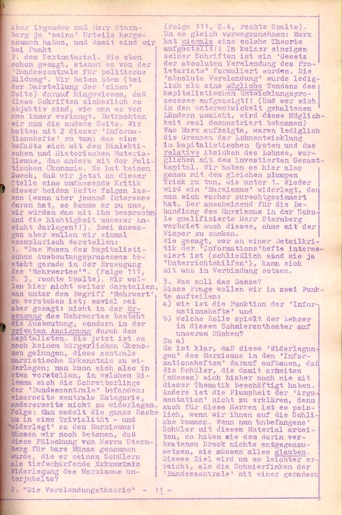 Rote Aktion _ Organ des SAK, Nr. 6, April 1972, Seite 11