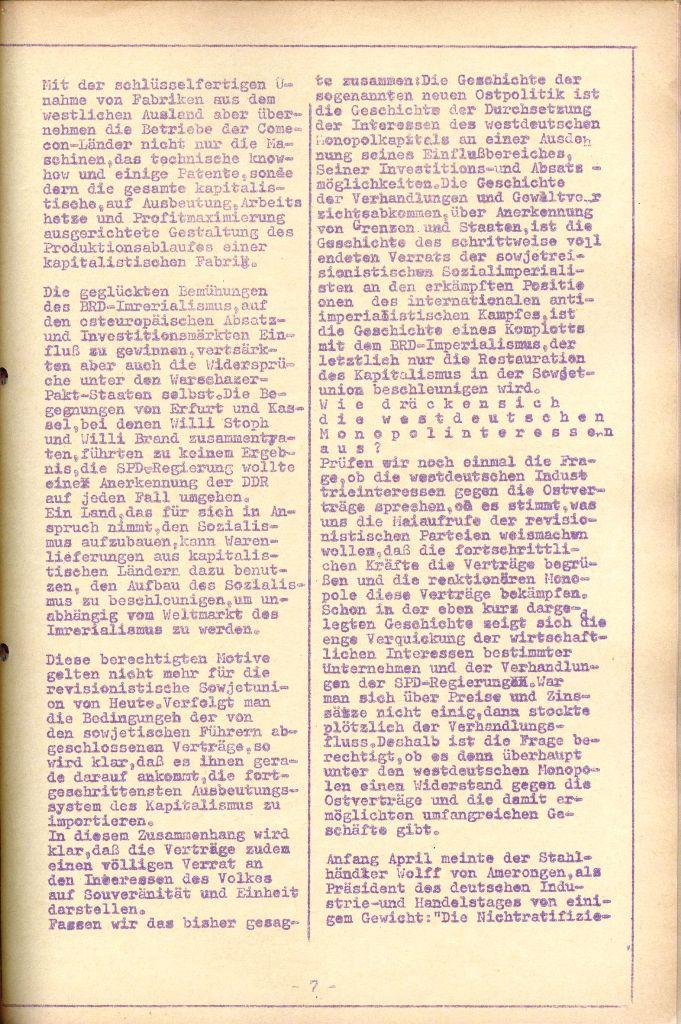Rote Aktion _ Organ des SAK, Nr. 7, Mai/Juni 1972, Seite 7