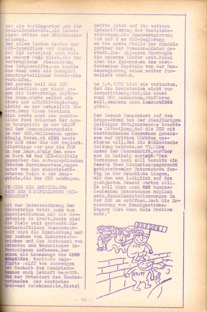 Rote Aktion _ Organ des SAK, Nr. 7, Mai/Juni 1972, Seite 10