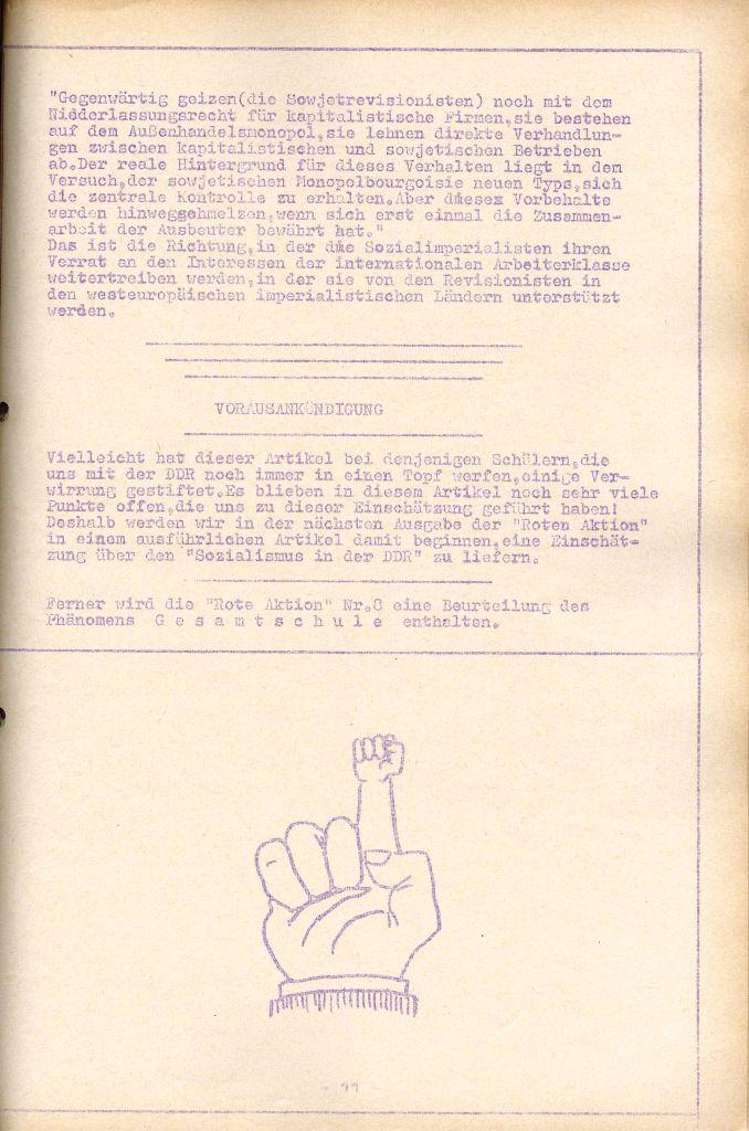 Rote Aktion _ Organ des SAK, Nr. 7, Mai/Juni 1972, Seite 11