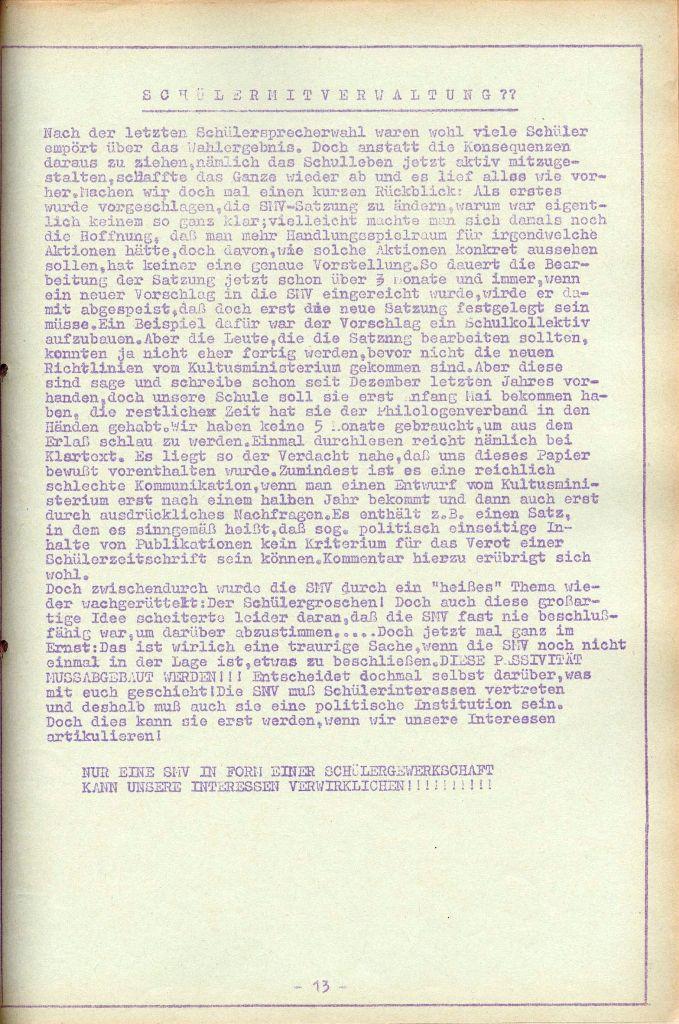 Rote Aktion _ Organ des SAK, Nr. 7, Mai/Juni 1972, Seite 13