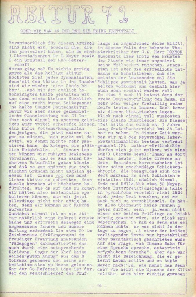 Rote Aktion _ Organ des SAK, Nr. 7, Mai/Juni 1972, Seite 14