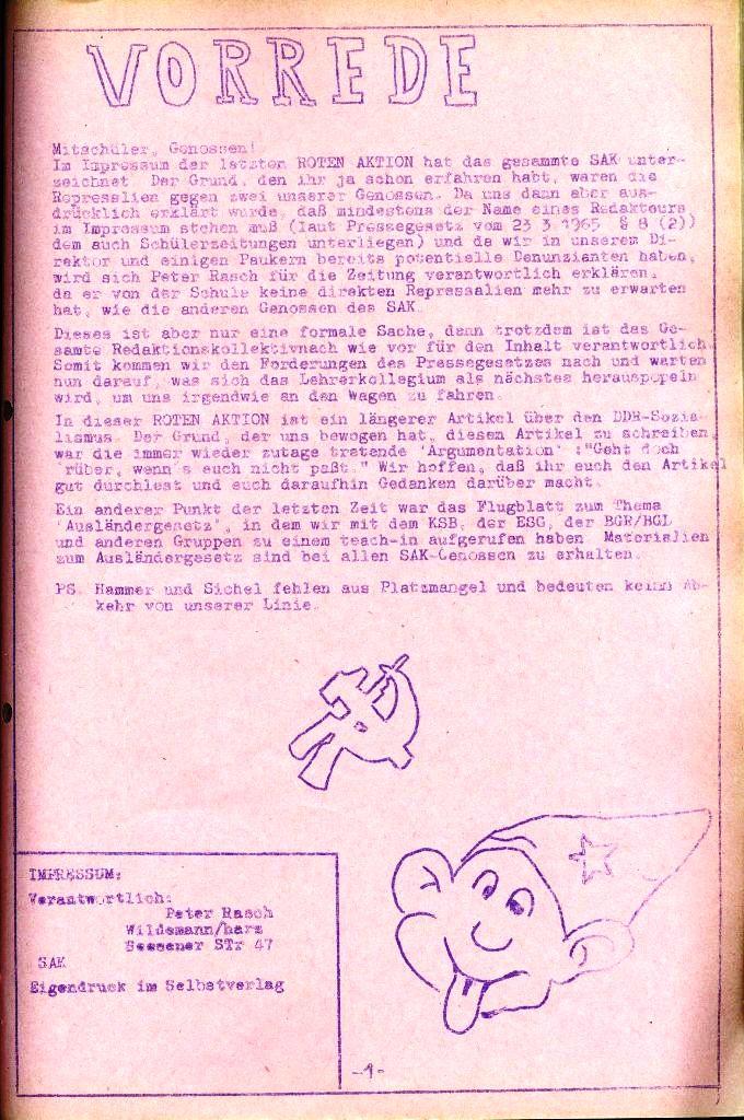 Rote Aktion _ Organ des SAK, Nr. 8, Juli, Seite 1