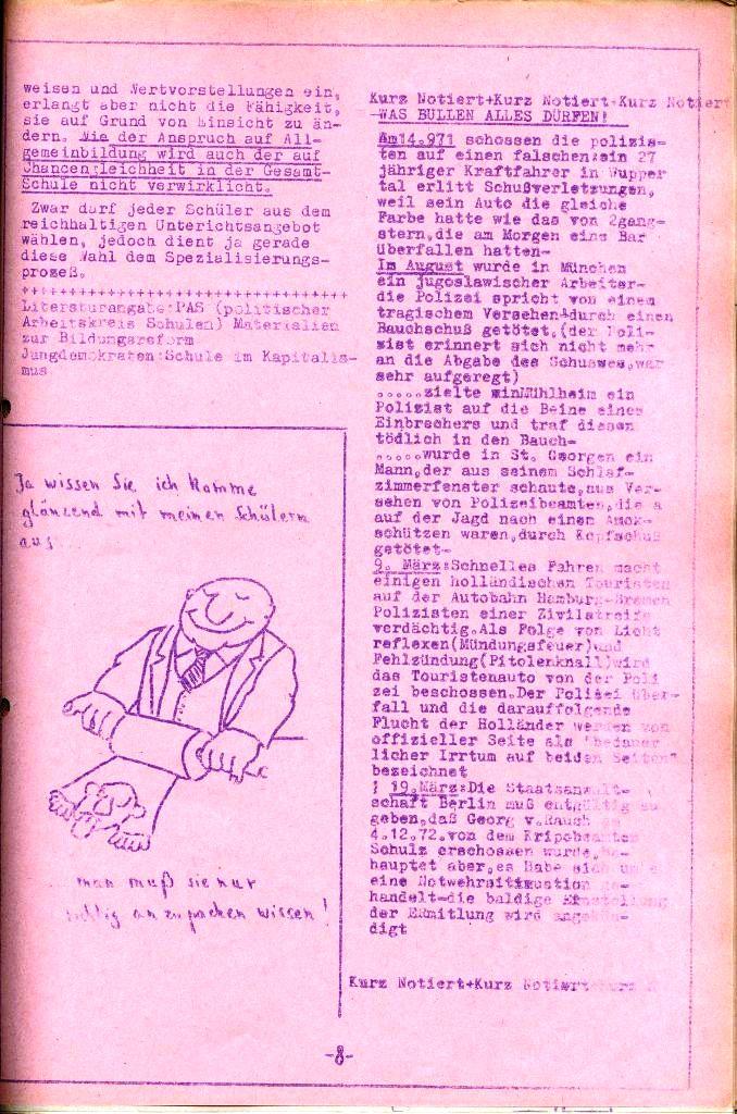 Rote Aktion _ Organ des SAK, Nr. 8, Juli, Seite 8