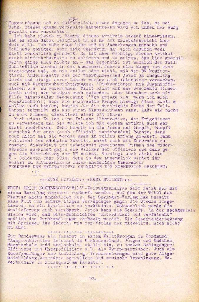 Rote Aktion _ Organ des SAK, Nr. 10, September, Seite 10
