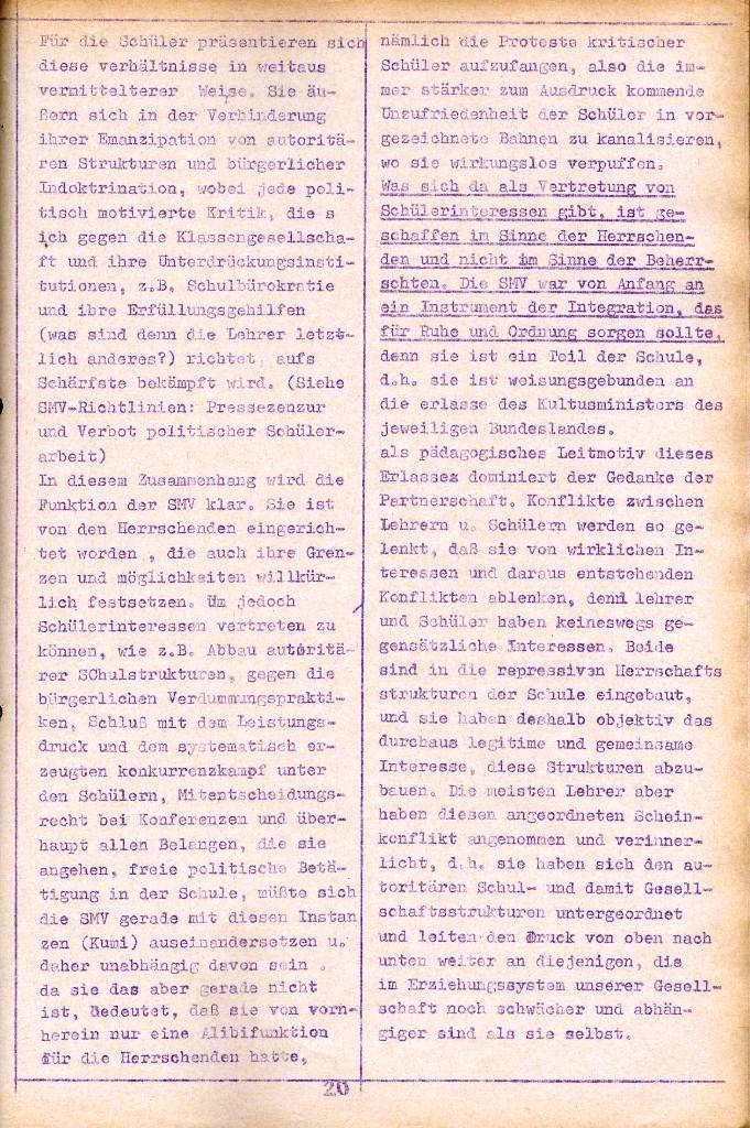 Rote Aktion _ Organ des SAK, Nr. 10, September, Seite 20