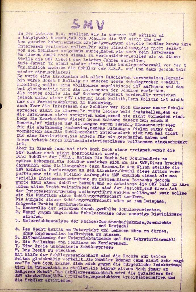 Rote Aktion _ Organ des SAK, Nr. 11, November, Seite 2