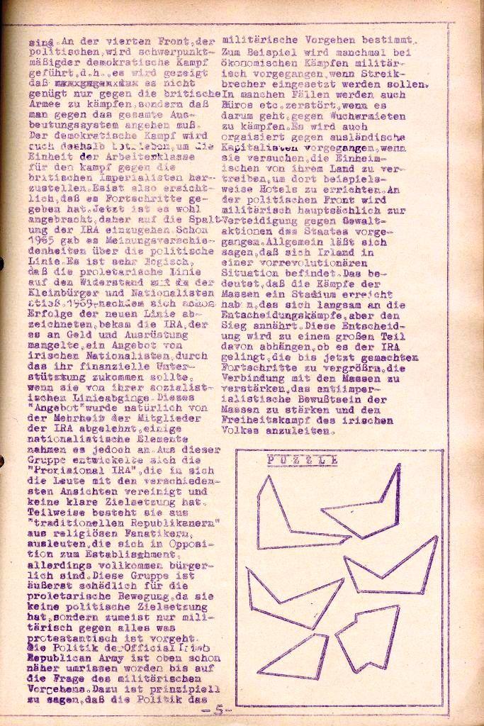 Rote Aktion _ Organ des SAK, Nr. 11, November, Seite 5