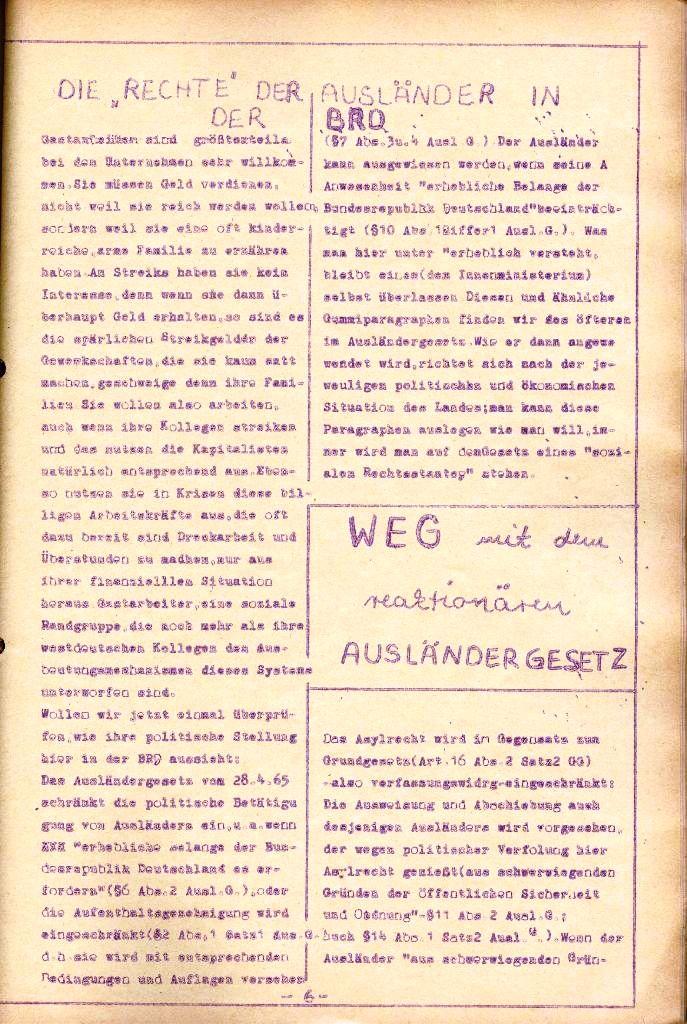 Rote Aktion _ Organ des SAK, Nr. 11, November, Seite 6