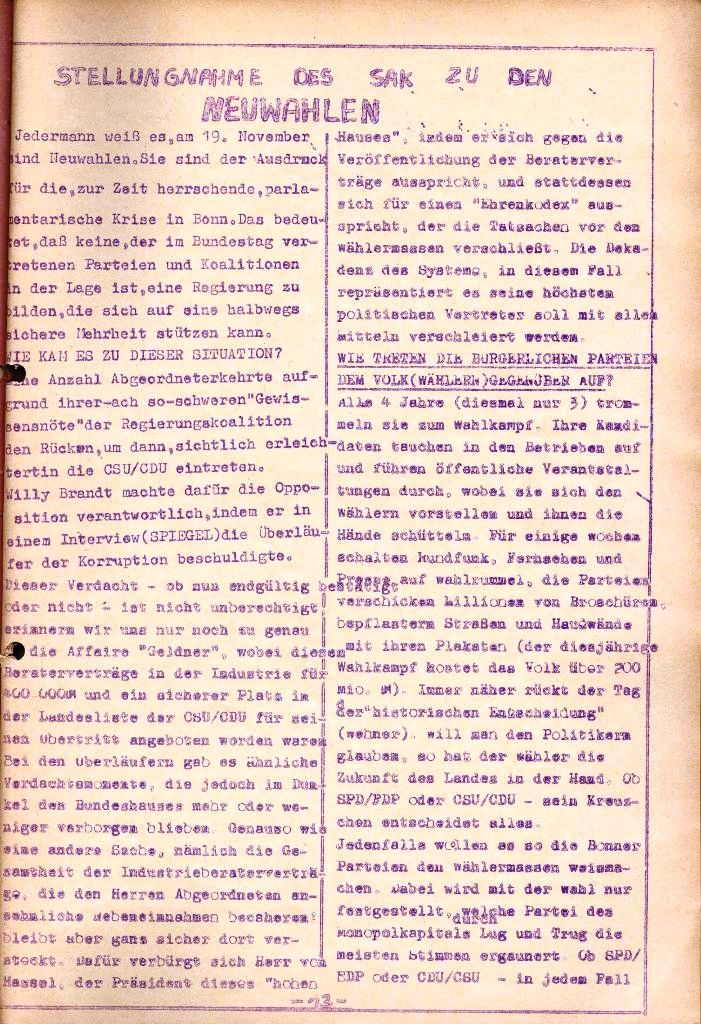Rote Aktion _ Organ des SAK, Nr. 11, November, Seite 13