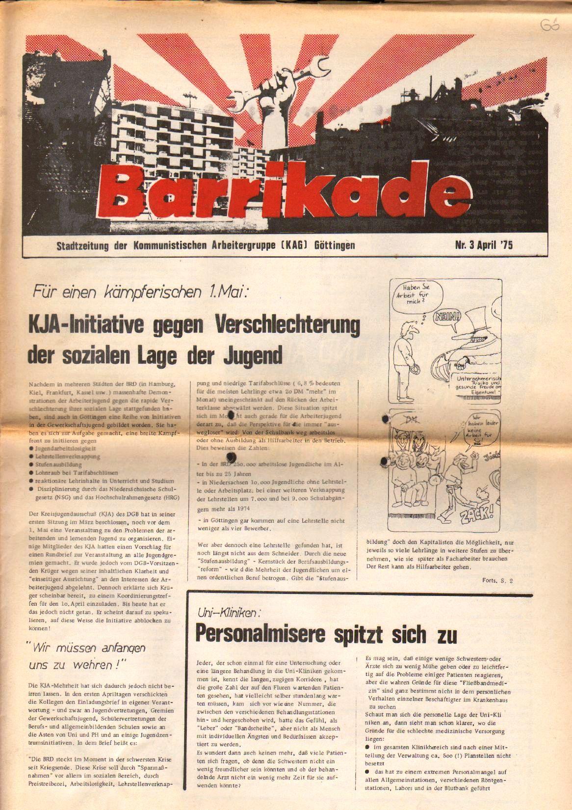 Goettingen_Barrikade011