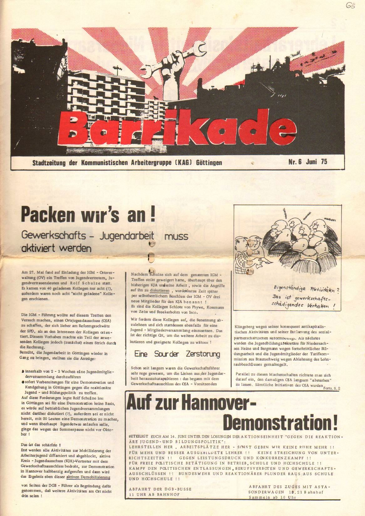 Goettingen_Barrikade023