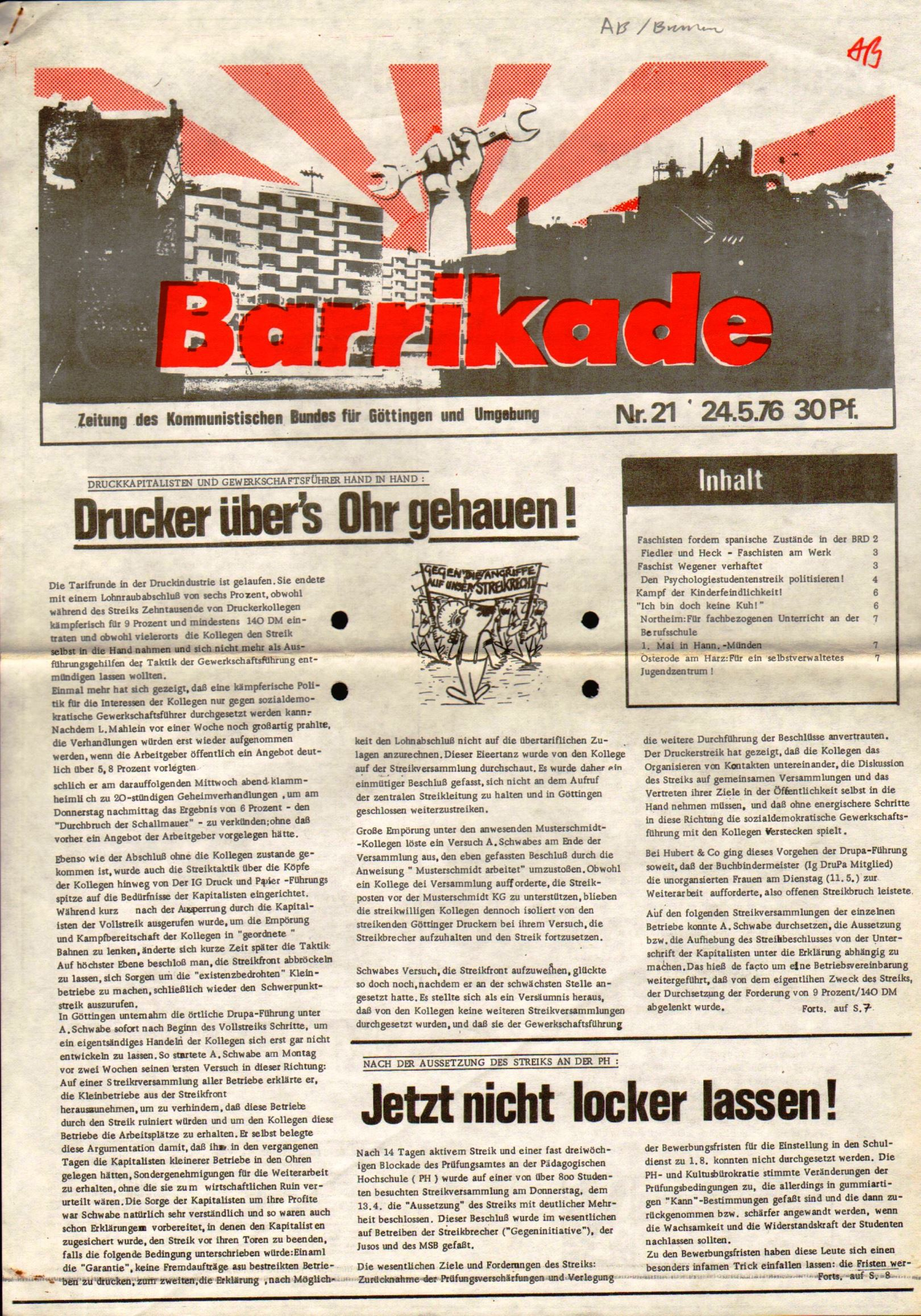 Goettingen_Barrikade129