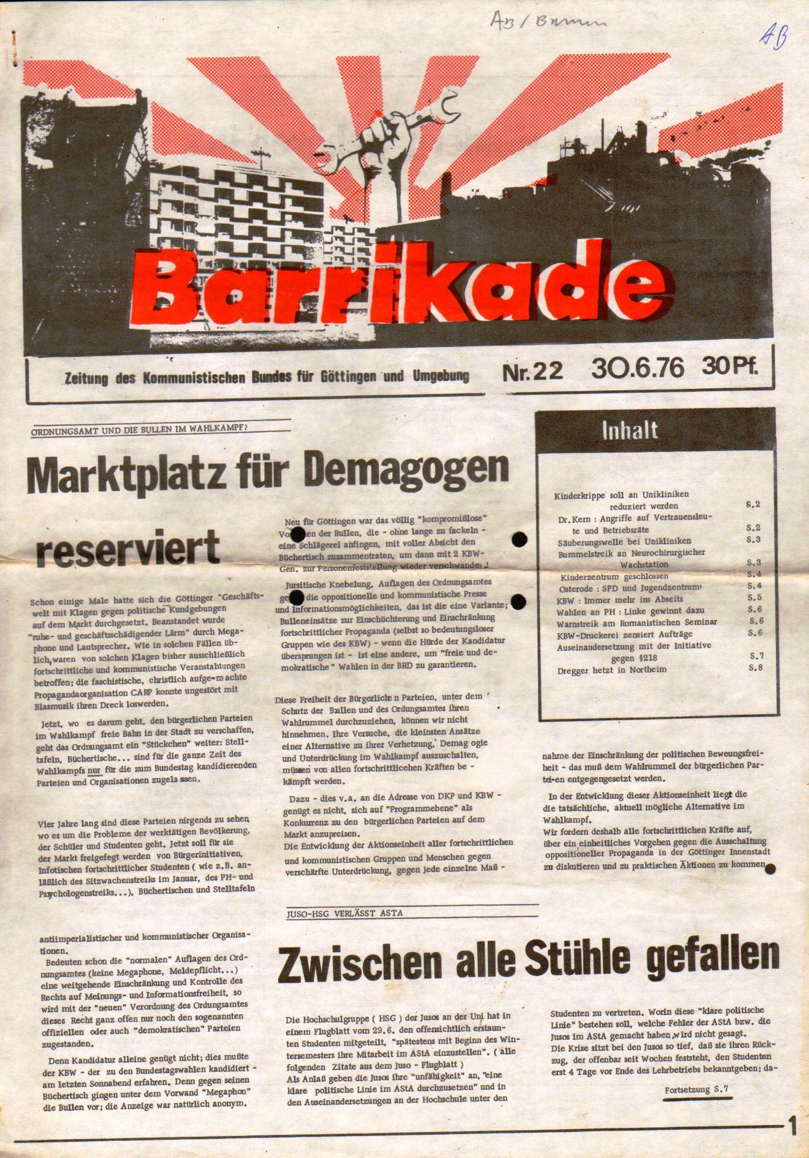 Goettingen_Barrikade137