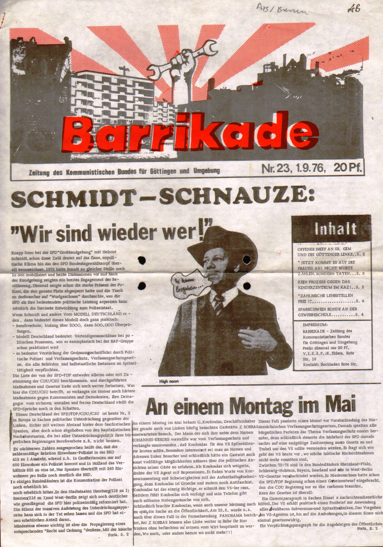 Goettingen_Barrikade145
