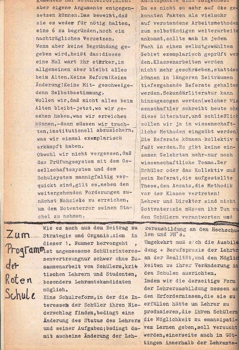 Rote Schule _ ZO der SSG, 1. Jg., 1969, Nr. 1, Seite 2