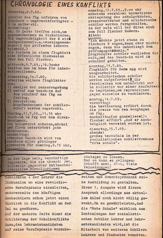 Rote Schule _ ZO der SSG, 1. Jg., 1969, Nr. 1, Seite 3