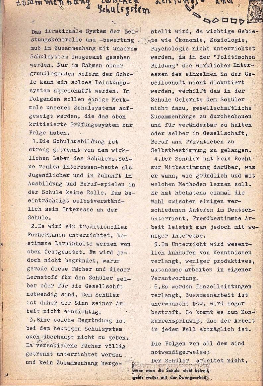 Rote Schule _ ZO der SSG, 1. Jg., 1969, Nr. 1, Seite 4