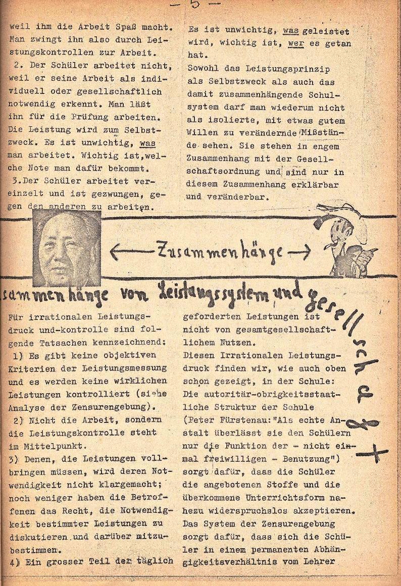 Rote Schule _ ZO der SSG, 1. Jg., 1969, Nr. 1, Seite 5